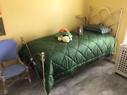 Arhaus St Lucia Champagne And Simmons Beautyrestandnbsptwin Xl Lux Firm With High Box