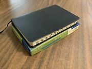 Niv 1984 Thinline Large Print Bible Indexed - Navy Blue Bonded Leather