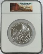 2010 Silver 5 Oz Grand Canyon National Park Atb Coin Ngc Ms 69 Early Releases