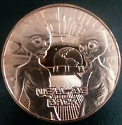 Weand039ll Be Back Aliens 1 Oz Copper Rounds .999 Avdp Roll Of 20