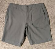 Outlier Menand039s Og Free Ways Shorts Size 34 Steel Gray Made In The Usa