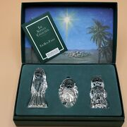 Marquis By Waterford Figurines The Nativity Collection The Holy Family Figures