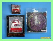 Honda Grom125 Msx125 Front 12t And Rear 28t Sprocket And Violet Chain Set Nan5900