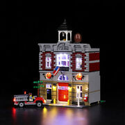 Light Set For Creator Fire Brigade Led Light Kit Compatible With Lego 10197