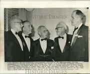 1959 Press Photo Dr. Paul Klopsteg And Other Scientific Officers In Chicago