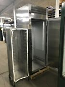 Roll-in Refrigerator 1 Door Used Excellent Condition With Roll-in Rack