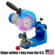 110v 230w Electric Chainsaw Chain Sharpener Grinder W/ 2 Grinding Wheels Tools