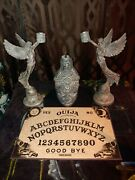 Haunted Ouija Board Zozo No Doll My Personal Altar Candle Holders And Head