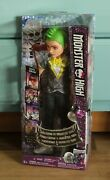 Monster High 2016 Deuce Gorgon Welcome To Monster High Doll New In Box