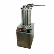 110v 1100w Commercial Hydraulic Sausage Stuffer Filler Sf-260 Food Ss