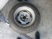 Early 1970and039s Corvette Ralley Wheel And Goodyear Polyglas Tire