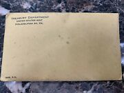 1963 Silver Proof Coin Set In Sealed Us Mint Ogp Treasury Envelope 90 Silver