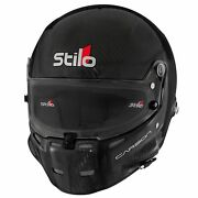 Stilo St5 F Carbon Fia And Snell Approved Race Competition Helmet Inc Fhr Posts