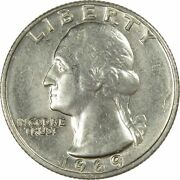 1969 Washington Quarter Bu Uncirculated Mint State 25c Us Coin Collectible