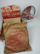 Vintage 50s Dime Store Toy Lot Atomic Jet Flying Saucers Box Display 25 Tot