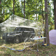 5.6m18ft Khaki Extra Large Size Mosquito Fly Net Car Netting Outdoor Camp Bug