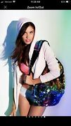 Victoria Secret Rare Ombre Sequin Rainbow Backpack Limited Edition F/s
