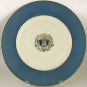 Lenox Somerset Blue 1830/s.13.f Autumn Dinner Plate