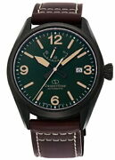 Orient Star Sports Outdoor Rk-au0208e Men's Watch Automatic Leather Green Brown