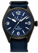 Orient Star Sports Outdoor Rk-au0207l Men's Watch Automatic Nylon Band Navy New