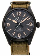 Orient Star Sports Outdoor Rk-au0206b Men's Watch Automatic Nylon Band New