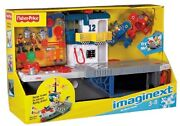 New Fisher Price Imaginext Sky Racers Aircraft Carrier Planes Pilot Navy Usna