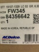 Wheel Bearing And Hub Assembly Front Acdelco Gm Original Equipment Fw345