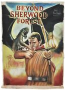 Ghana Movie Poster African Hand Painted Ghana Beyond Sherwood Forest