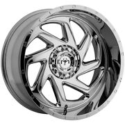 4-motiv Offroad 426c Morph 24x12 6x135/6x5.5 -44mm Chrome Wheels Rims 24 Inch
