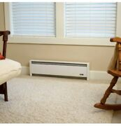 Cadet Electric Baseboard Heater 500-watts Hydronic Convection Plug-in White New