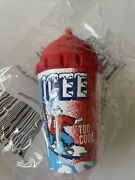 1999 Rare Vintage Icee Cup With Straw Antenna Topper