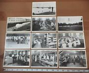 10 1943 Wwii Postcards Rppc Us Coast Guard Training Station Curtis Bay Maryland
