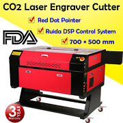 20and039and039 X 28 80w Co2 Laser Cutter Cutting Engraving Machine Ruida Dsp And Red Dot