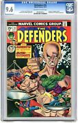 Defenders 16 Cgc 9.6 Nm+ White Pgs 10/74 Prof. X Magneto And The B