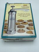 Marcato Biscuits Cookie Press 20 Discs Christmas Spritz Cookies Made In Italy
