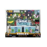 Roblox Rog0177 Celebrity Collection-adopt Me Pet Store Deluxe Playset [inclu...