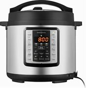 Insignia - 6 Quart Multi-function Pressure Cooker Rice Soup Meat Cake Beans