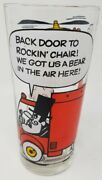Vintage Rare Pizza Hut Snidely Whiplash Dudley Do Right 70s Collector Glass.
