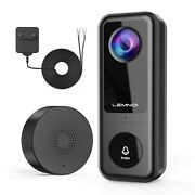 Video Doorbell Camera 2k Lemnoi Wire Video Doorbell With Chime Smart Motion...