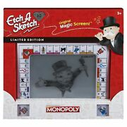 Ohio Art Etch A Sketch Classic, Monopoly Limited-edition Drawing Toy With Mag...