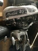 Martin Vintage Outboard Not Working For Parts Model Andldquo45andrdquo