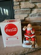 Limited Edition Coca Cola Melody In Motion Santa Claus 1994