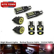 6x Led License Plate Reverse Backup High Mount Cargo Lamp For Ford F-150 2015-17