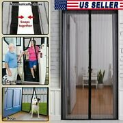 Magnetic Screen Door Mesh Curtain Net Guard Mosquito Fly Insect Bug 38 X 83