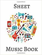 Sheet Music Book Music Notebook For Kids Piano Music Perfect For Learning Mu...