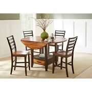 Copper Grove Warkworth Acacia 5-piece Counter Height Dining Brown 5-piece Sets