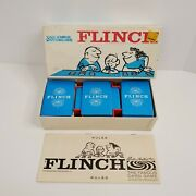 Vintage 1963 Flinch Parker Brothers Retro The Famous Card Game - 100 Complete