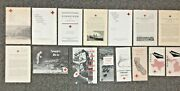 Lot Of 15 American Red Cross Reports On U.s. Disasters Tornados Floods 1935-1958