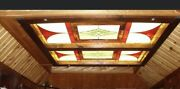 Large Stained Glass Panels Windows Or Ceiling