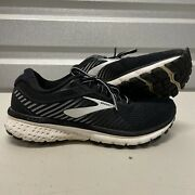 Brooks Ghost 12 1203051b039 Running Shoes Womenand039s Size 7 B Black